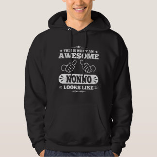 This Is What An Awesome Nonno Looks Like Hoodies