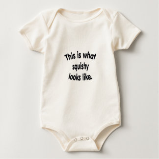 This is what squishy looks like design baby bodysuit