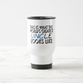 This Is What The World's Greatest Uncle (2) Travel Mug
