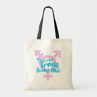 This is what trans looks like - Trans Symbol - - . Tote Bag