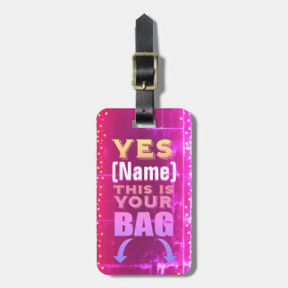 This is Your Bag Tag