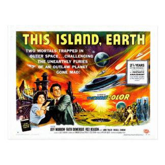 THIS ISLAND, EARTH POSTCARD