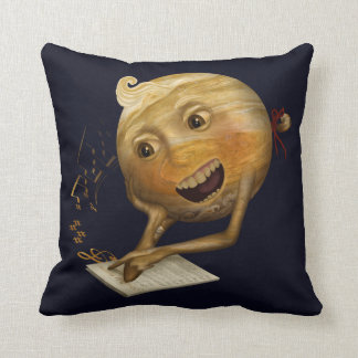This Jupiter learning to sing Cushion
