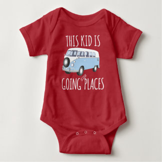This Kid Is Going Cool Places Baby Bodysuit