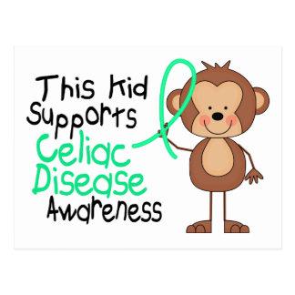 This Kid Supports Celiac Disease Awareness Postcard