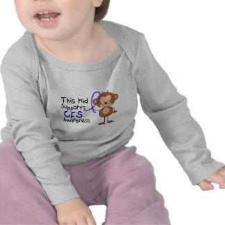 This Kid Supports CFS Awareness Tee Shirt