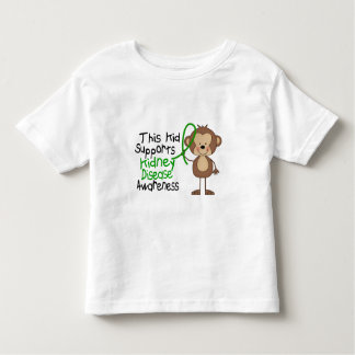 This Kid Supports Kidney Disease Awareness Toddler T-Shirt