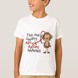 This Kid Supports Multiple Myeloma Awareness T-Shirt