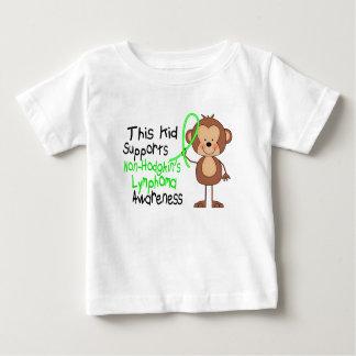 This Kid Supports Non-Hodgkins Lymphoma Awareness Baby T-Shirt