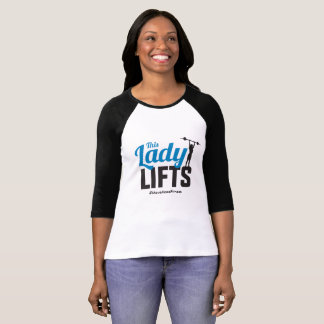 This Lady lifts! T-Shirt