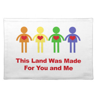 This Land Was Made for You and Me Placemat