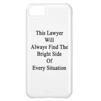 This Lawyer Will Always Find The Bright Side Of Ev iPhone 5C Case