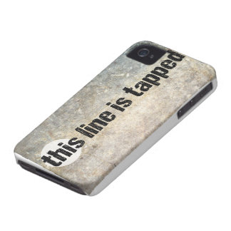 this line is tapped 4th amendment iPhone 4 cases