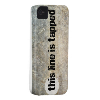 this line is tapped 4th amendment phone case iPhone 4 case