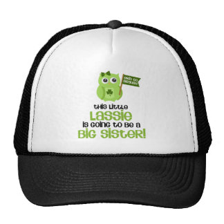 This Little Lassie Big Sister Trucker Hats