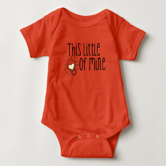 This little light if mine baby bodysuit