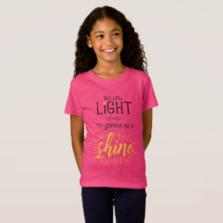 This Little Light of Mine Kids Shirt