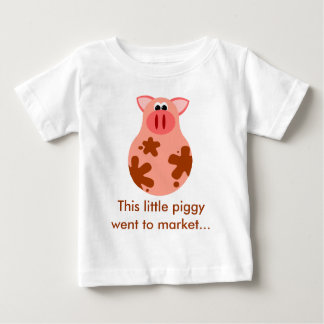 This Little Piggy Went To Market Baby Tee
