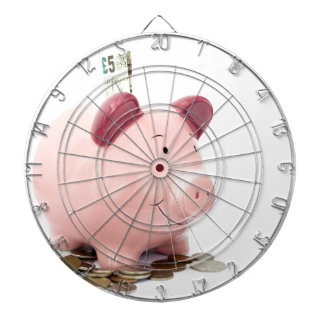 this little piggy went to the bank dartboard