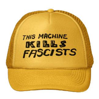 """This Machine Kills Fascists"" Cap"