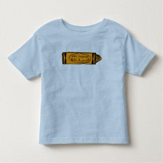 this machine kills fascists (orange crayon) toddler T-Shirt