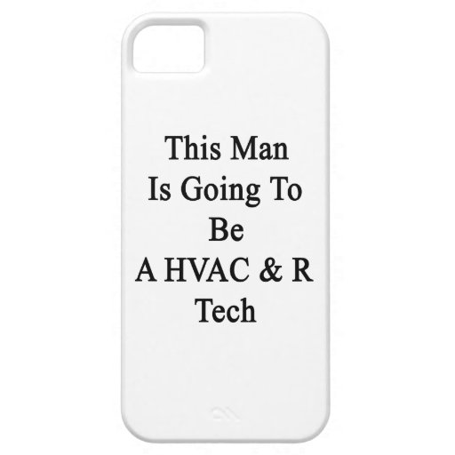 This Man Is Going To Be A HVAC & R Tech iPhone 5 Cases
