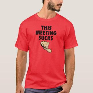 This Meeting Sucks! Thumbs Down! T-Shirt