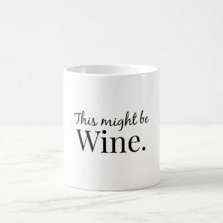 This might be wine. coffee mug