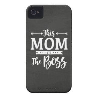This Mom Is The Boss iPhone 4 Covers