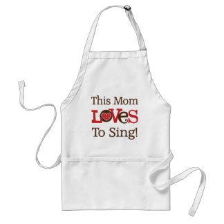 This Mom Loves To Sing Standard Apron