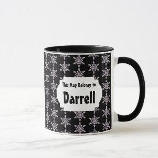 This Mug Belongs to Snowflakes