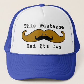This mustache had its own mustache Hat 2