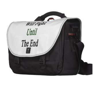 This Nigerian Will Fight Until The End Laptop Computer Bag