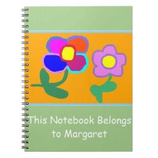 'This Notebook Belongs To Margaret' Notebook