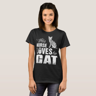 This Nurse Loves Her Cat Tshirt