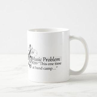 """This one time at band camp…"" Basic White Mug"