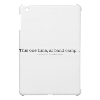 This one time at band camp... iPad mini covers