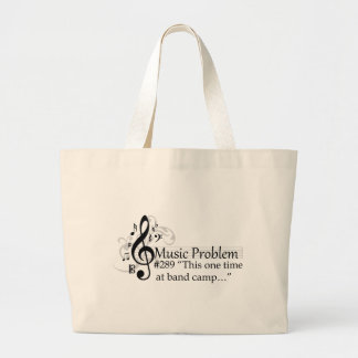 """""""This one time at band camp…"""" Jumbo Tote Bag"""