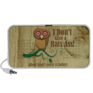 This owl doesnt say hoot iPhone speaker