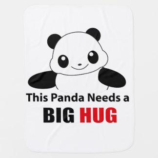 This panda need a big hug baby blanket