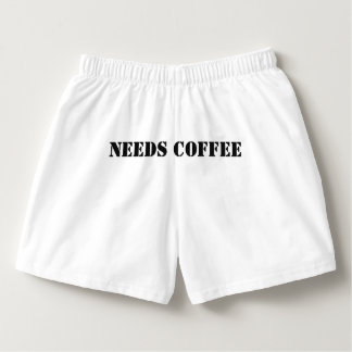 THIS PERSON NEEDS COFFEE Boxer Shorts mens/womens Boxers