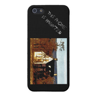 This Phone is Haunted iPhone 5/5S Covers