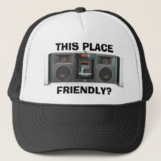 This Place Beatbox Friendly Trucker Hat