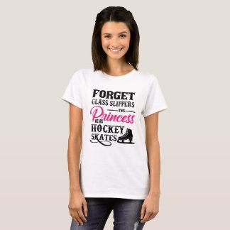 This Princess Wears Hockey Skates T-shirt
