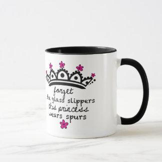 This Princess Wears Spurs- Mug