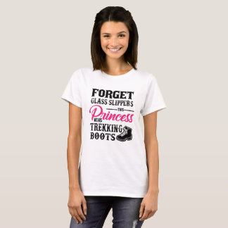This Princess Wears Trekking Boots T-shirt