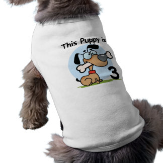 This Puppy 3rd Birthday T-shirts and Gifts Pet T-shirt