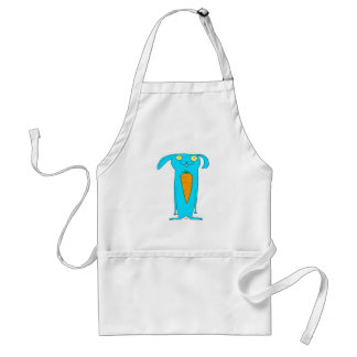 This Rabbit eats . . . carrots Standard Apron