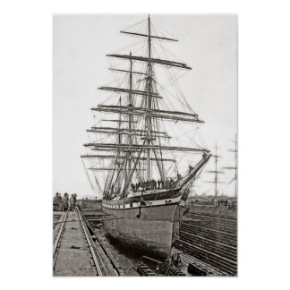 This Ship Talus 1892 Poster