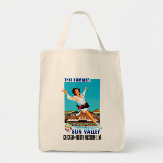 This Summer ~ Sun Valley Tote Bag